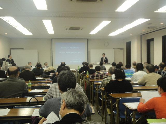 川辺健一郎氏の講義のようす