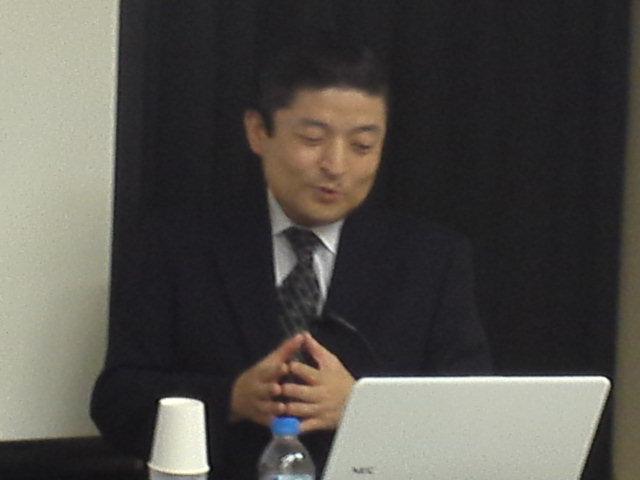 講師の武田英孝先生